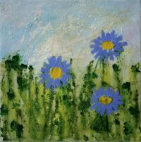 0284 Blue Daisies